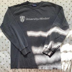 University of Windsor Long Sleeve Tee
